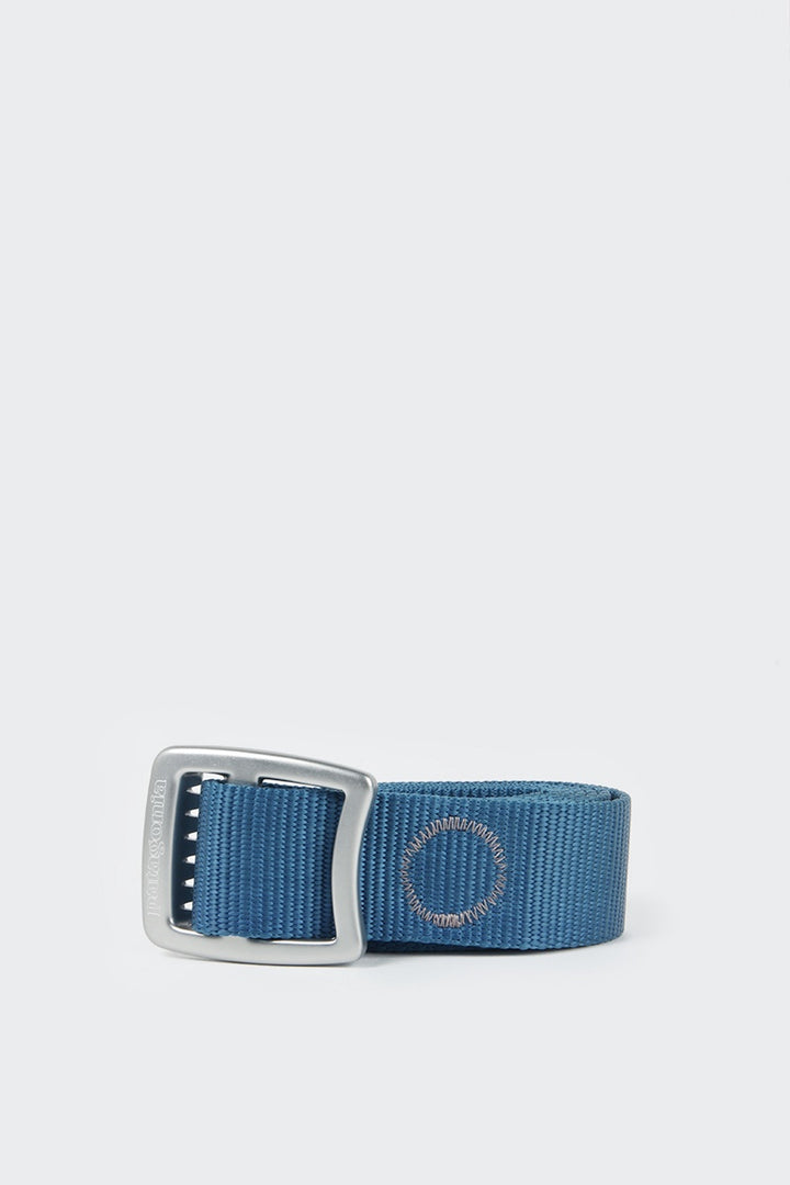 Patagonia Tech Web Belt - glass blue | GOOD AS GOLD | NZ