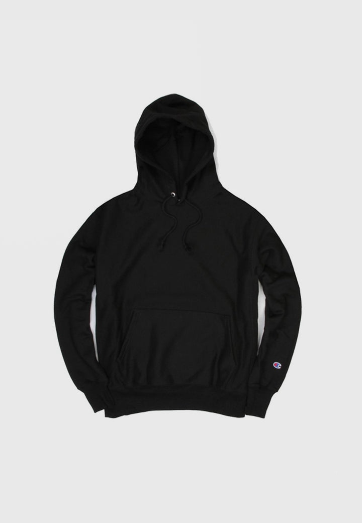 c07f3d1268b6 Champion Blank Reverse Weave Hoodie - black – Good As Gold