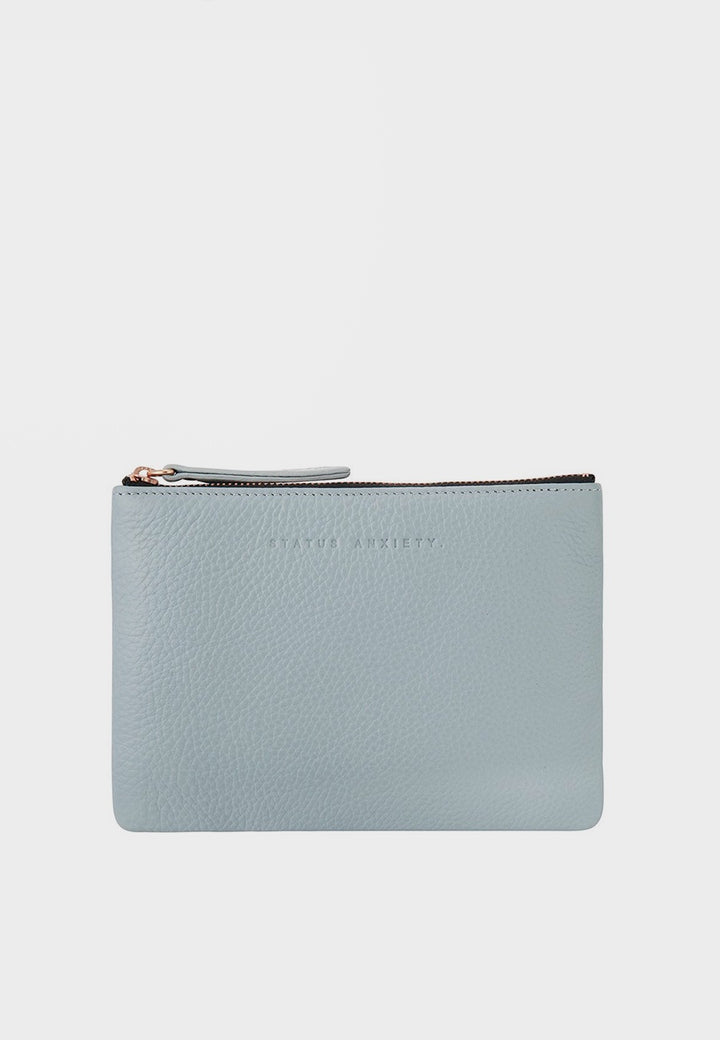 Status Anxiety Treacherous Pouch Wallet - arctic grey - Good As Gold