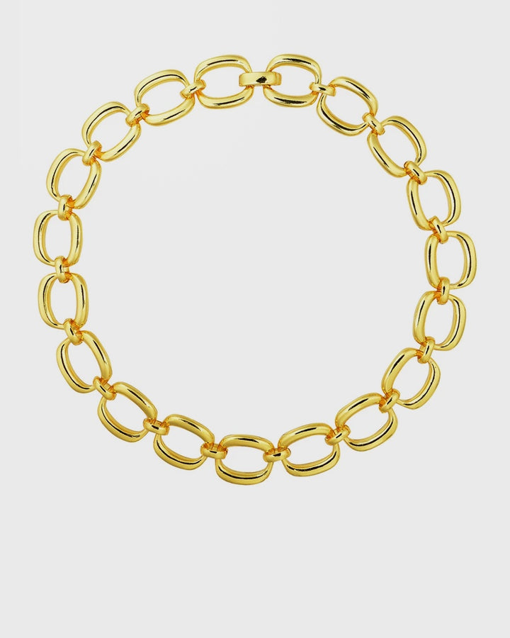 Enlazar Choker - gold