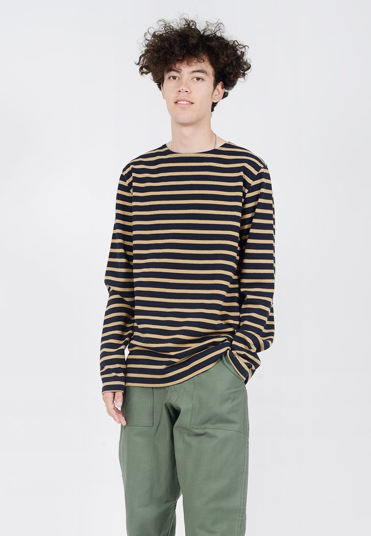Norse Projects Godtfred Compact Long sleeve T-Shirt - camel - Good As Gold
