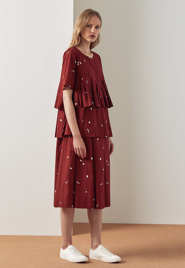 Kowtow Rei Dress - dream print - Good As Gold