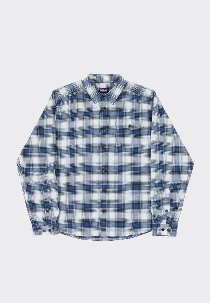 Light Weight Fjord Flannel Shirt - superior blue