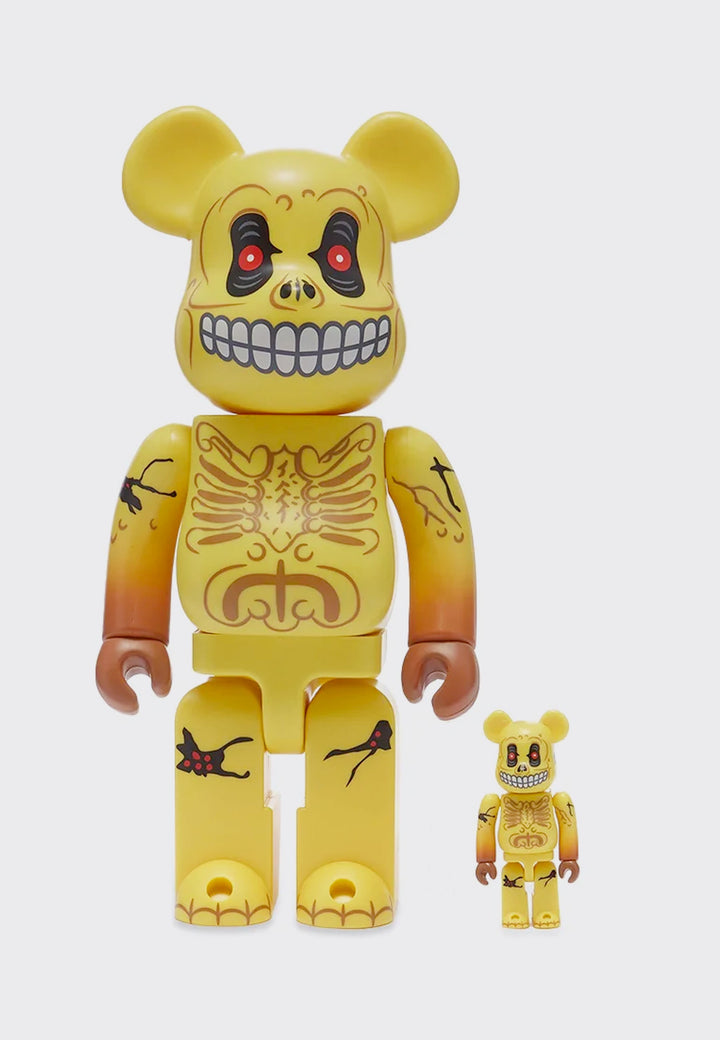 Be@rbrick Skull Face 100% + 400% Set