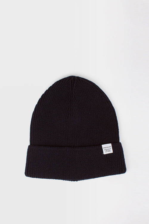 Norse Projects Cotton Watch Beanie - dark navy - Good As Gold
