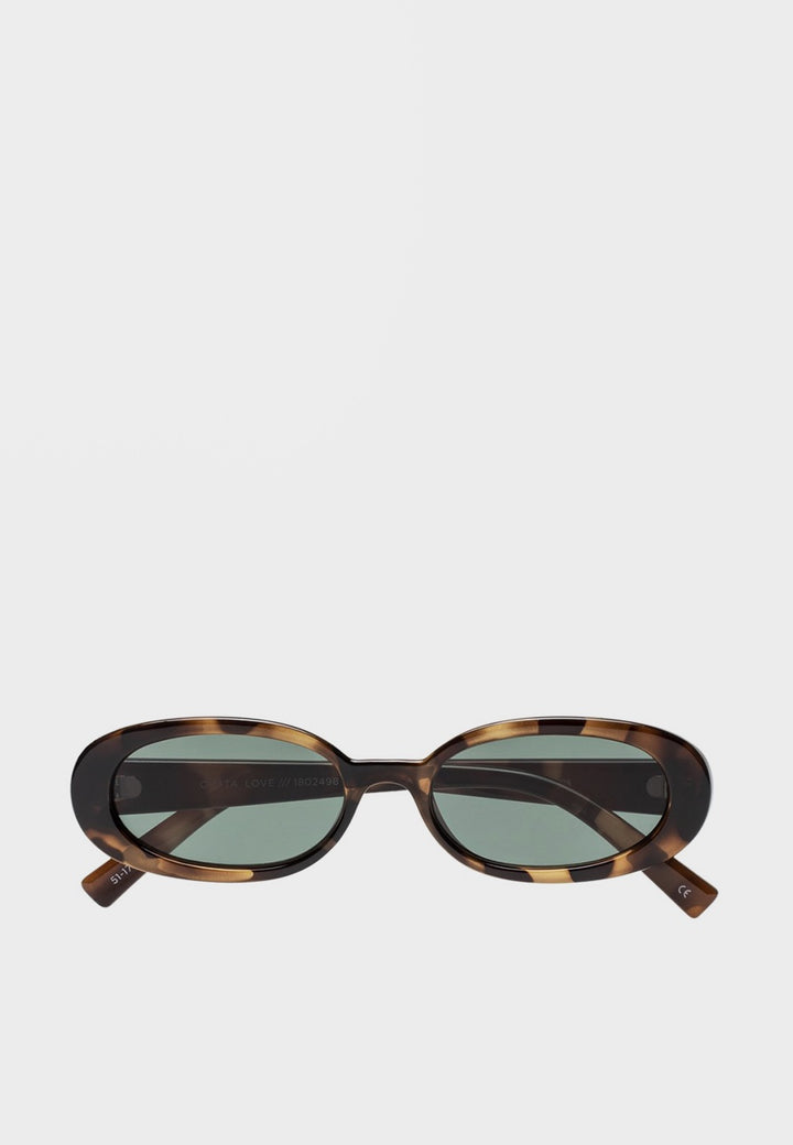 Le Specs Outta Love Sunglasses - tort - Good As Gold
