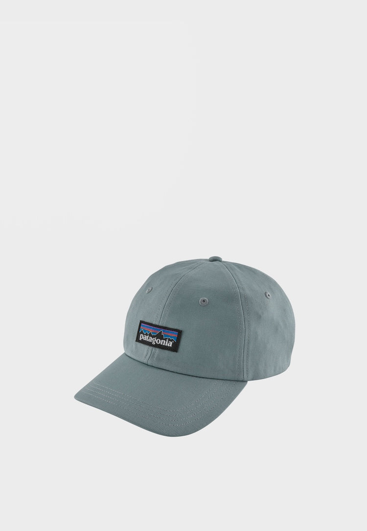 Patagonia P-6 Label Trad Cap - cadet blue – Good as Gold