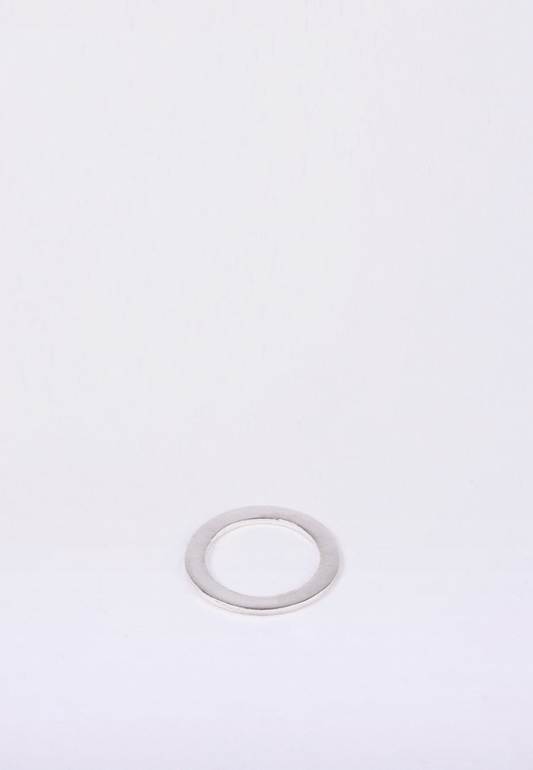 Newend Flat Ring -  silver - Good As Gold