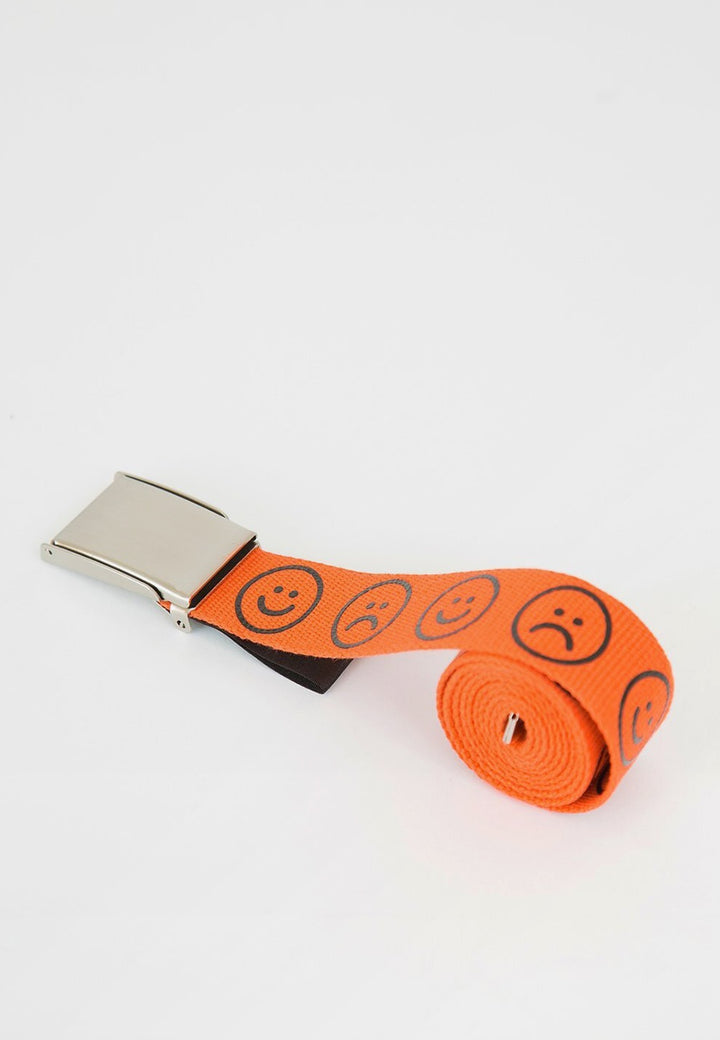 Lazy Oaf | Orange Happy Sad Belt | Good As Gold, NZ