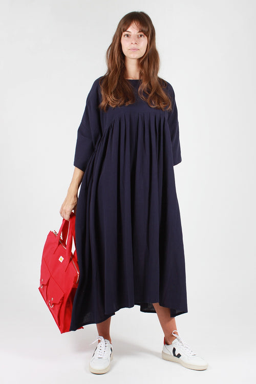 L.F.Markey Mega Dress - navy cotton - Good As Gold