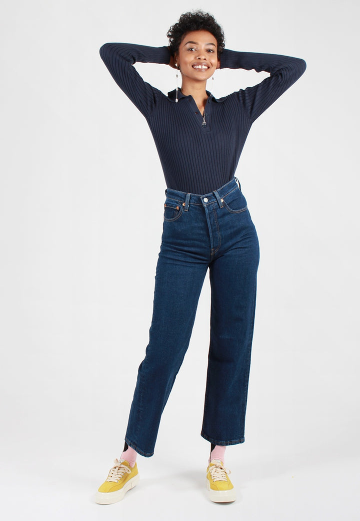 Ribcage Jeans - life's work blue