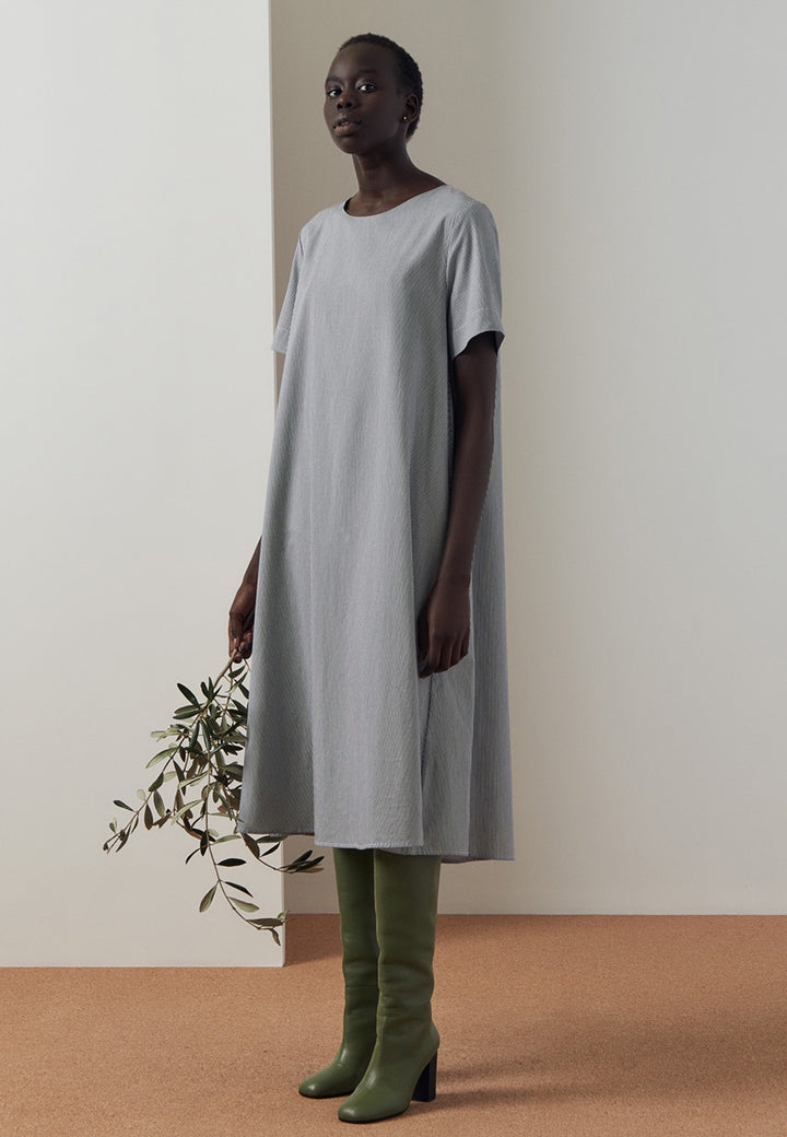 Kowtow Triangle Dress - classic stripe — Good as Gold