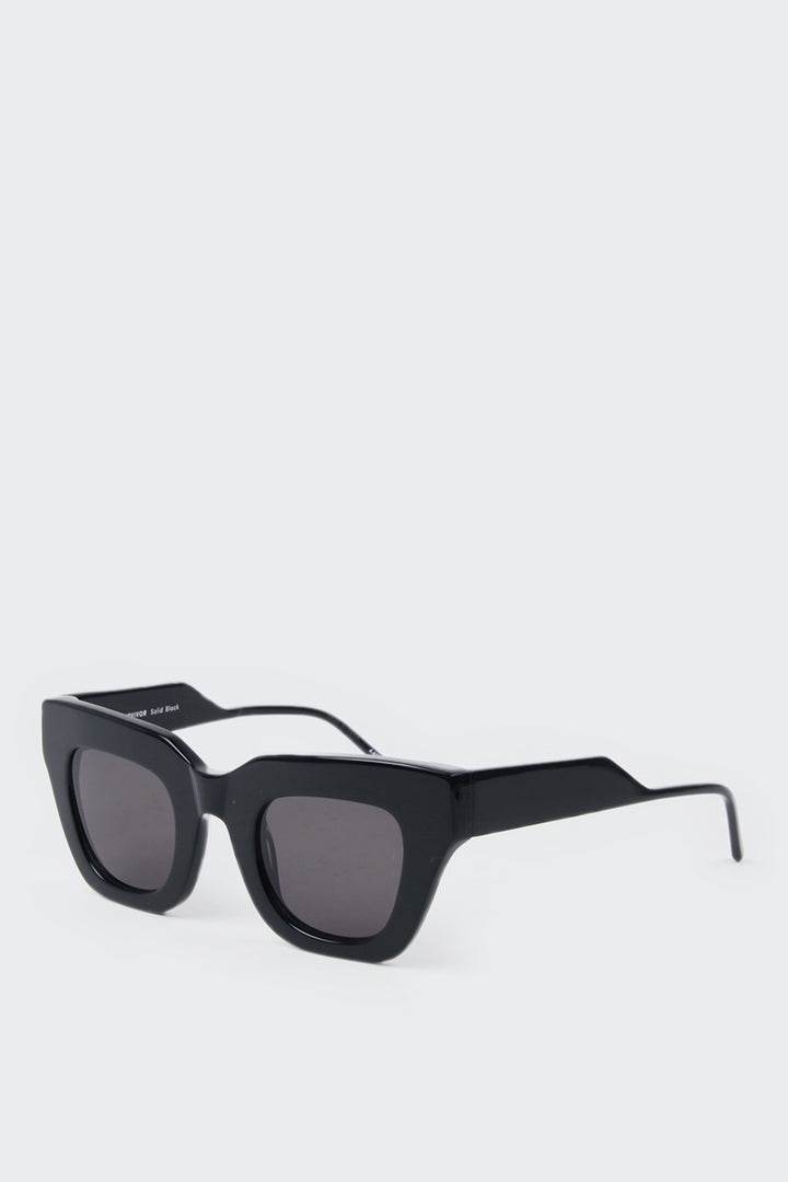 Kaibosh City Survivor Sunglasses - solid black | GOOD AS GOLD | NZ