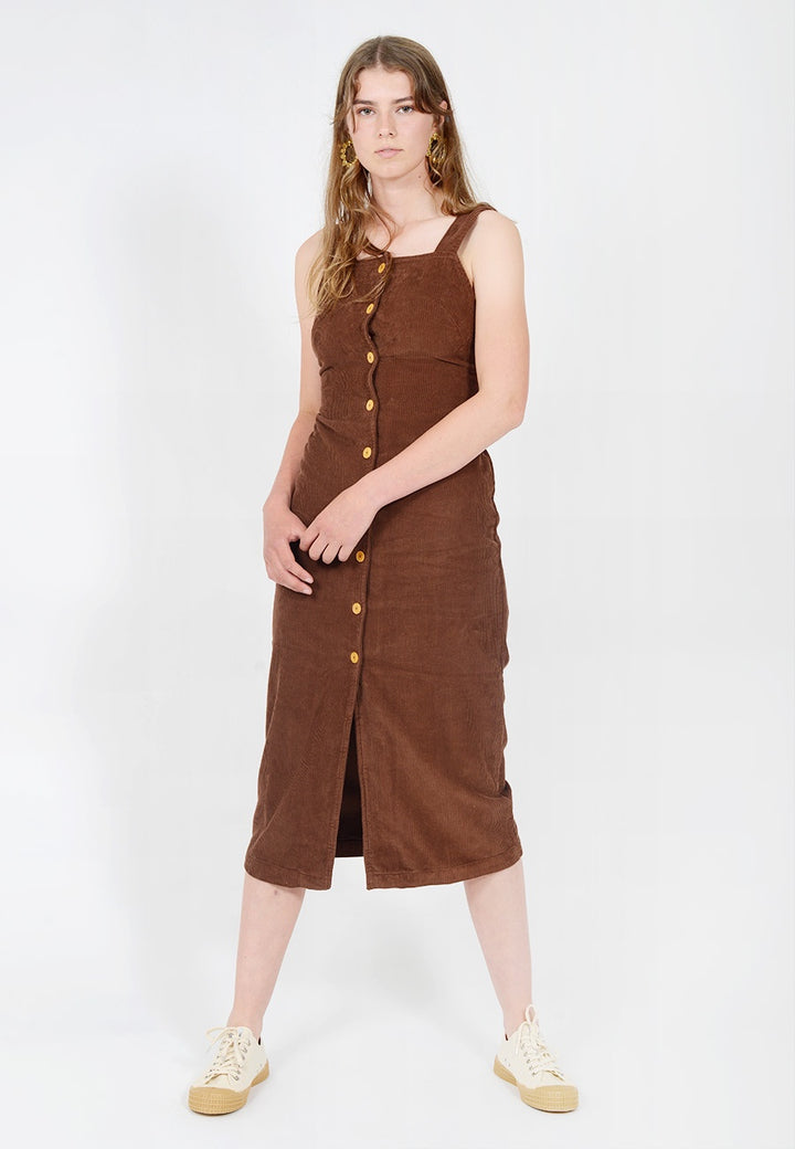 Paloma Wool Havana Dress - brown — Good as Gold