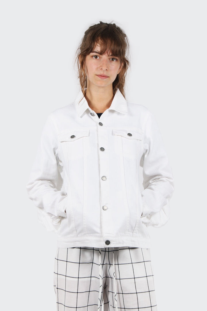 The Fifth Symphony Jacket - white | GOOD AS GOLD | NZ