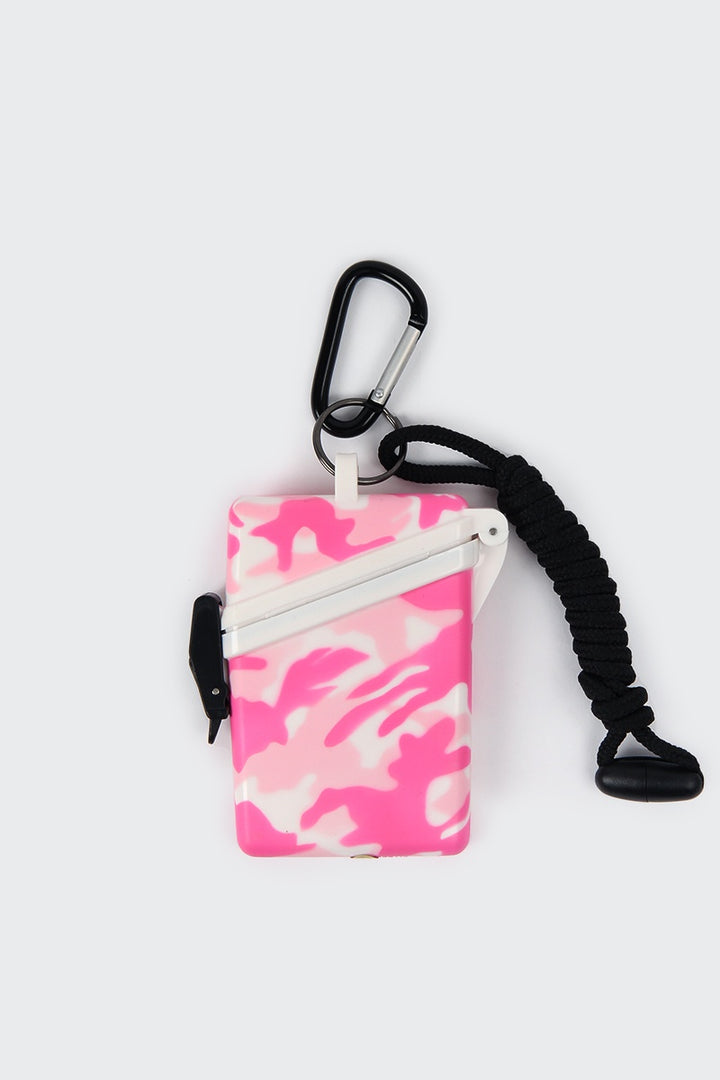 Witz Waterproof Case - pink camo | GOOD AS GOLD | NZ