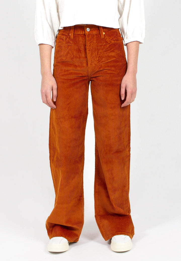 Levis | Ribcage Wide Leg - caramel cord | Good As Gold, NZ
