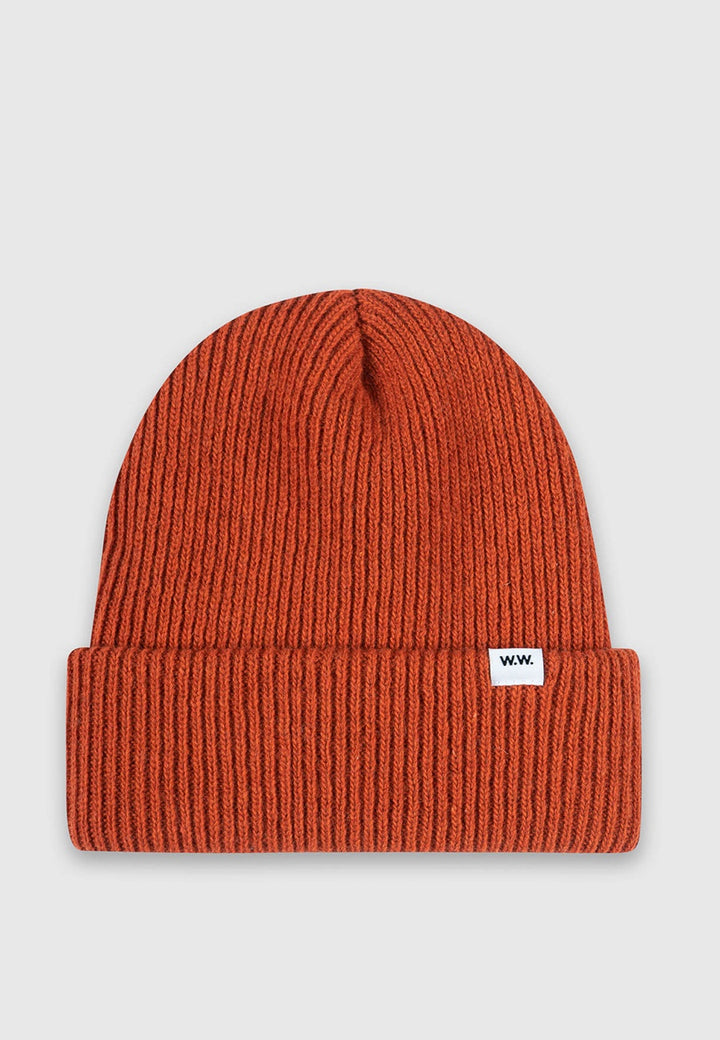 Wood Wood | Mande Beanie - orange | Good As Gold, NZ