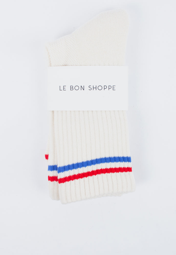 Le Bon Shoppe | Boyfriend Socks - Milk | Good As Gold, NZ