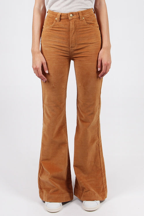 Eastcoast Flare Jeans - tan cord