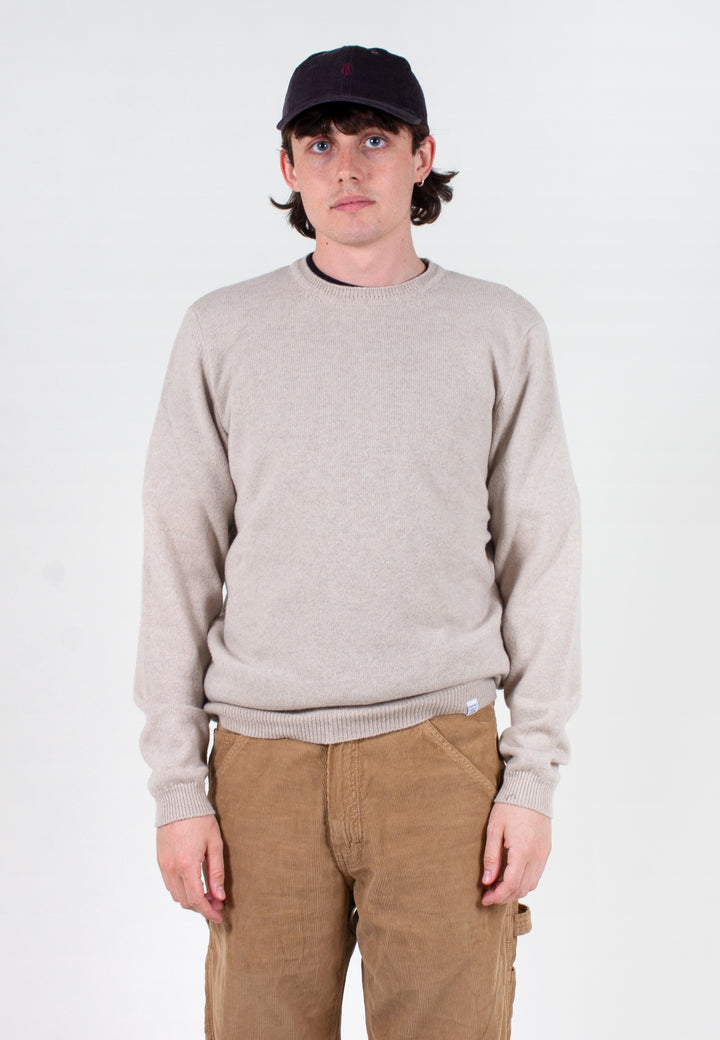Norse Projects | Sigfred Lambswool - oatmeal melange | Good As Gold, NZ