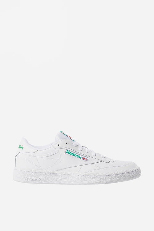 Reebok Club C 85 - white/green — Good as Gold