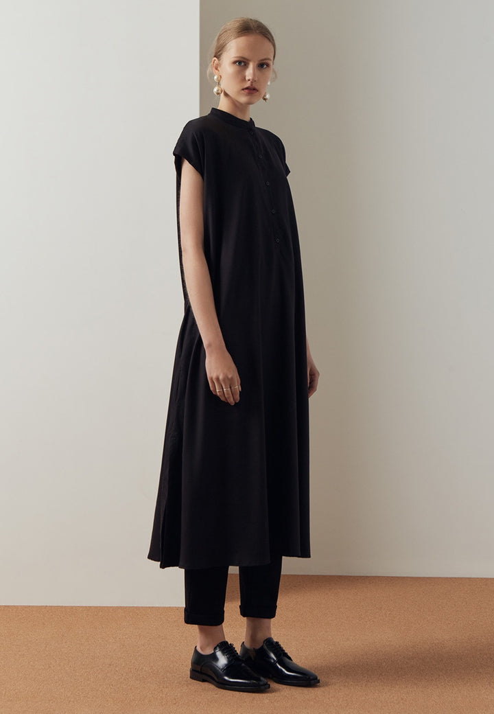 Kowtow Wandering Dress - black — Good as Gold