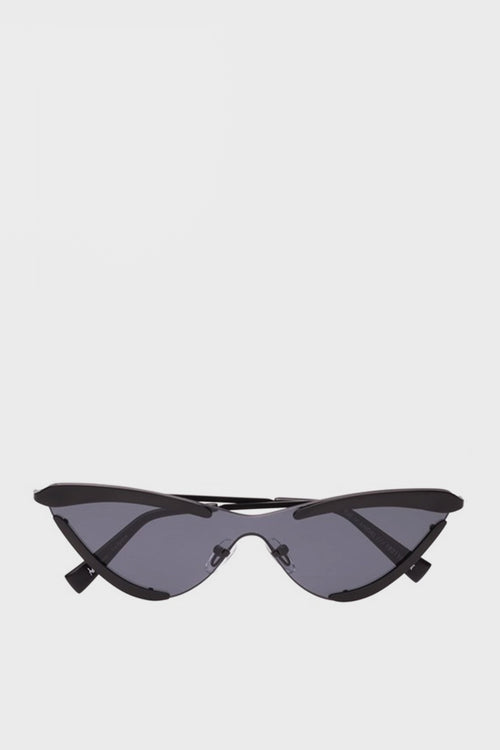 X Adam Selman The Scandal Sunglasses - satin black