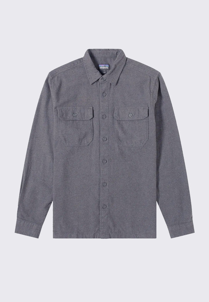 Fjord Flannel Shirt - forge grey
