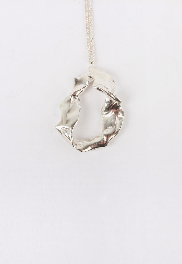 Form Necklace - silver