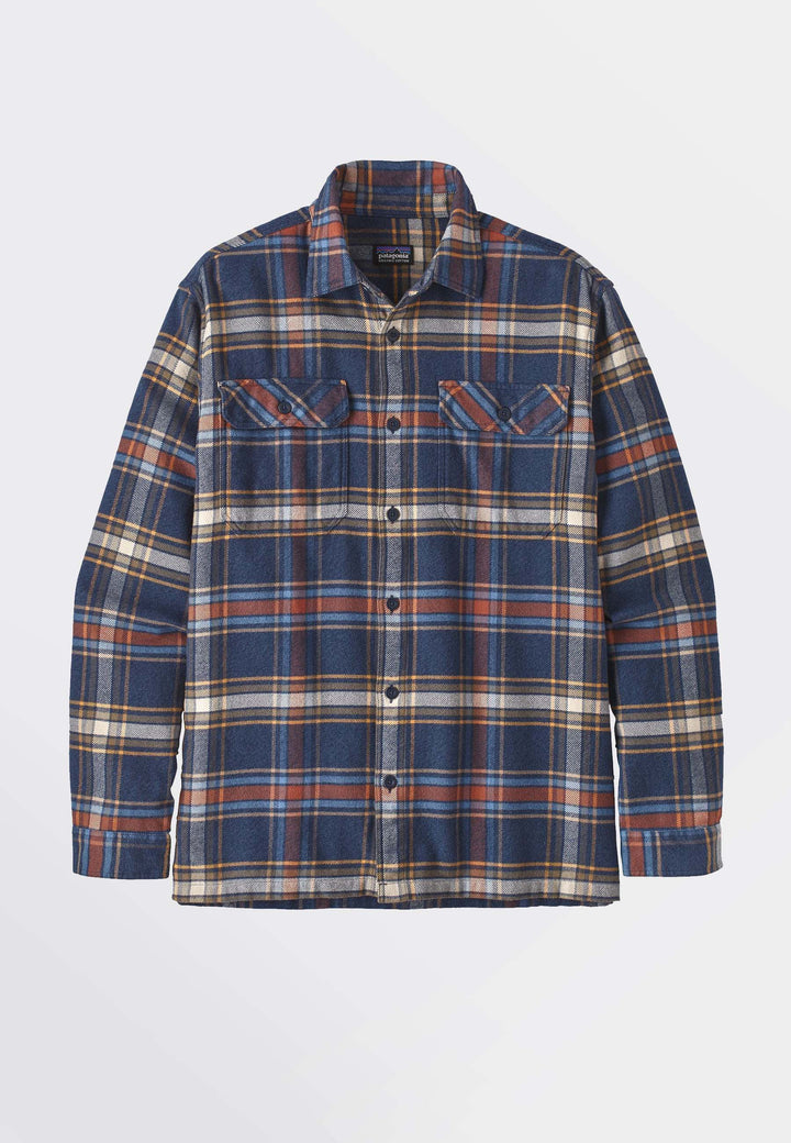 Fjord Flannel Shirt - new navy