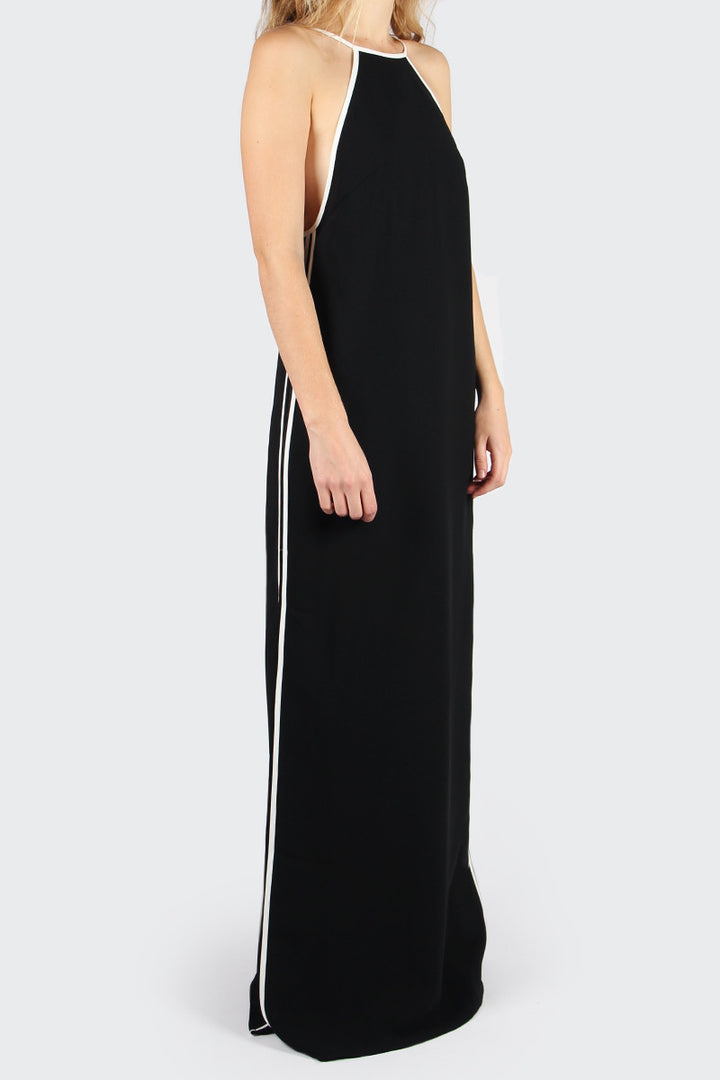 Cameo Collective, Check The Rhyme Maxi Dress - black/white | GOOD AS GOLD | NZ