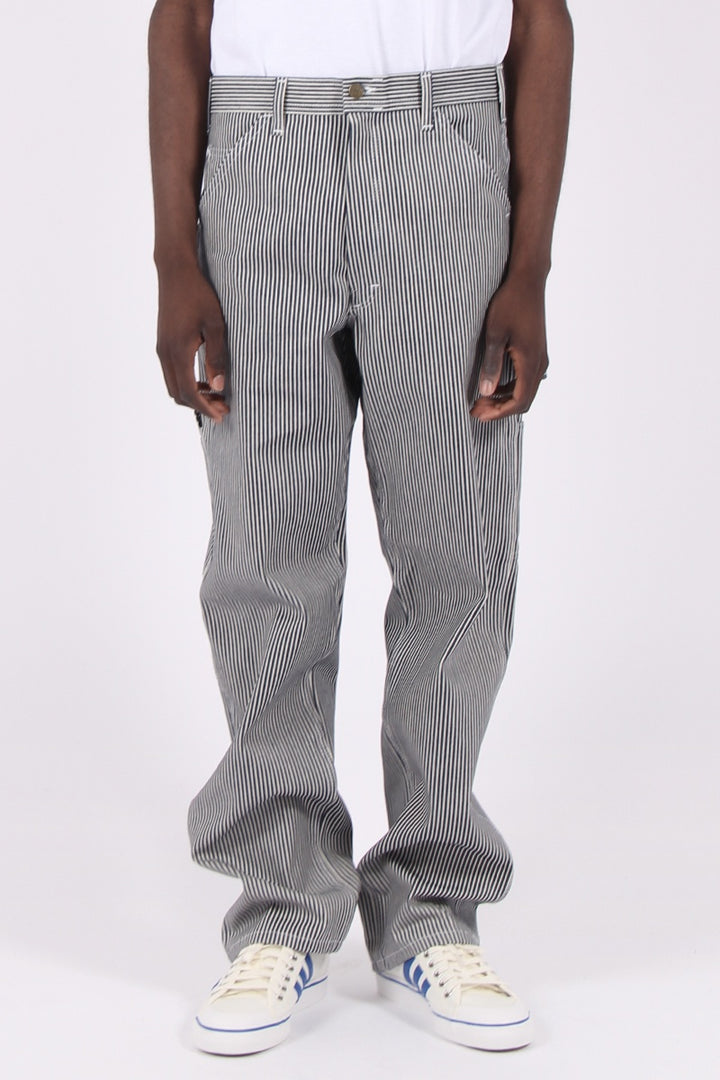 Single Knee Painter Pant - hickory stripe
