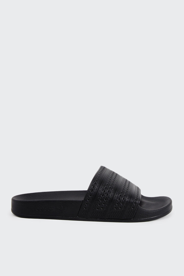 Adidas Originals Adilette - black/black/red | GOOD AS GOLD | NZ