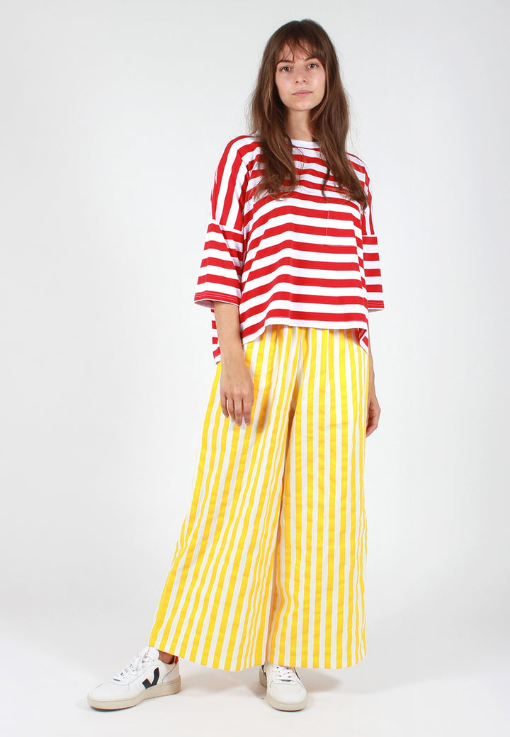 L.F.Markey Billy Stripe Pant - sunflower - Good As Gold
