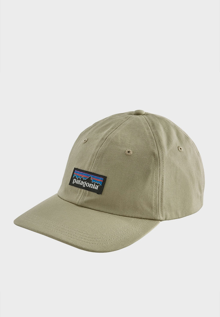 Patagonia P-6 Label Trad Cap - withered stone - Good As Gold