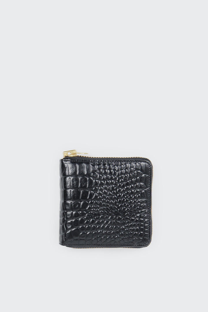 Status Anxiety Empire Wallet - black croc | GOOD AS GOLD | NZ