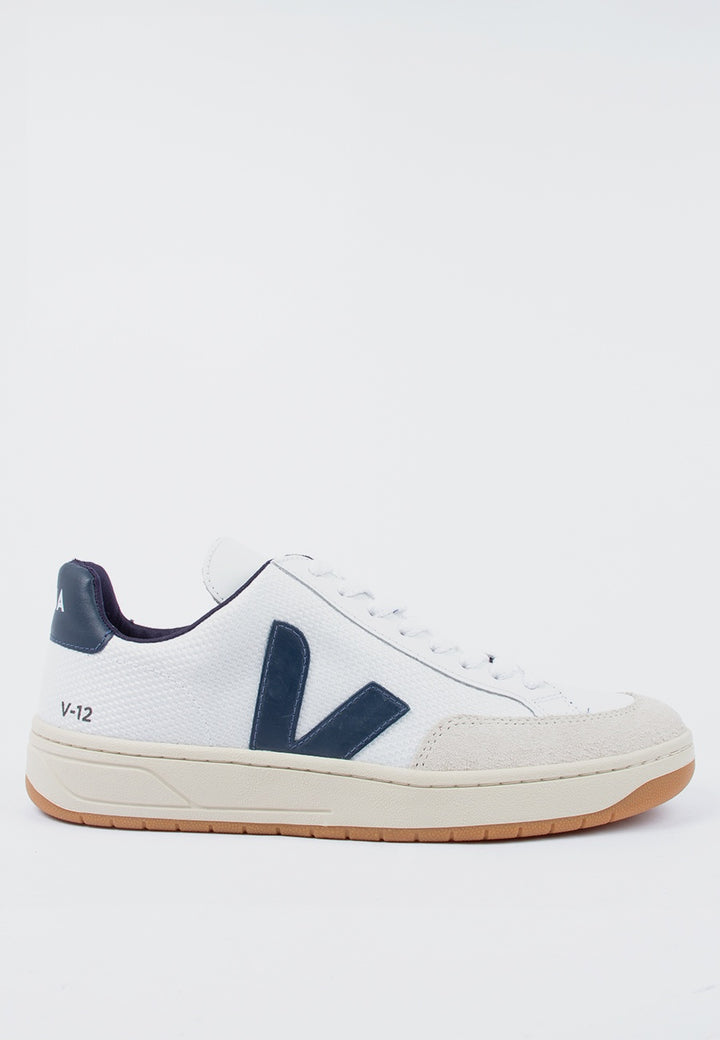 Veja | V12 BMesh - white/navy | Good As Gold, NZ