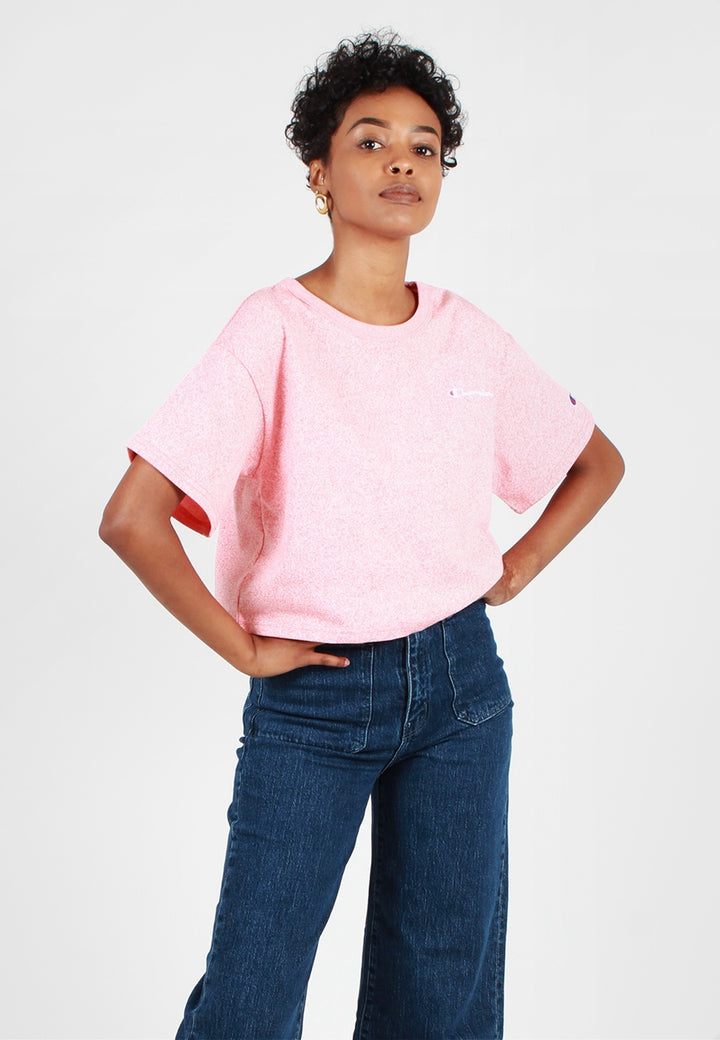 Champion Womens Heritage Cropped T-Shirt - papaya - Good As Gold