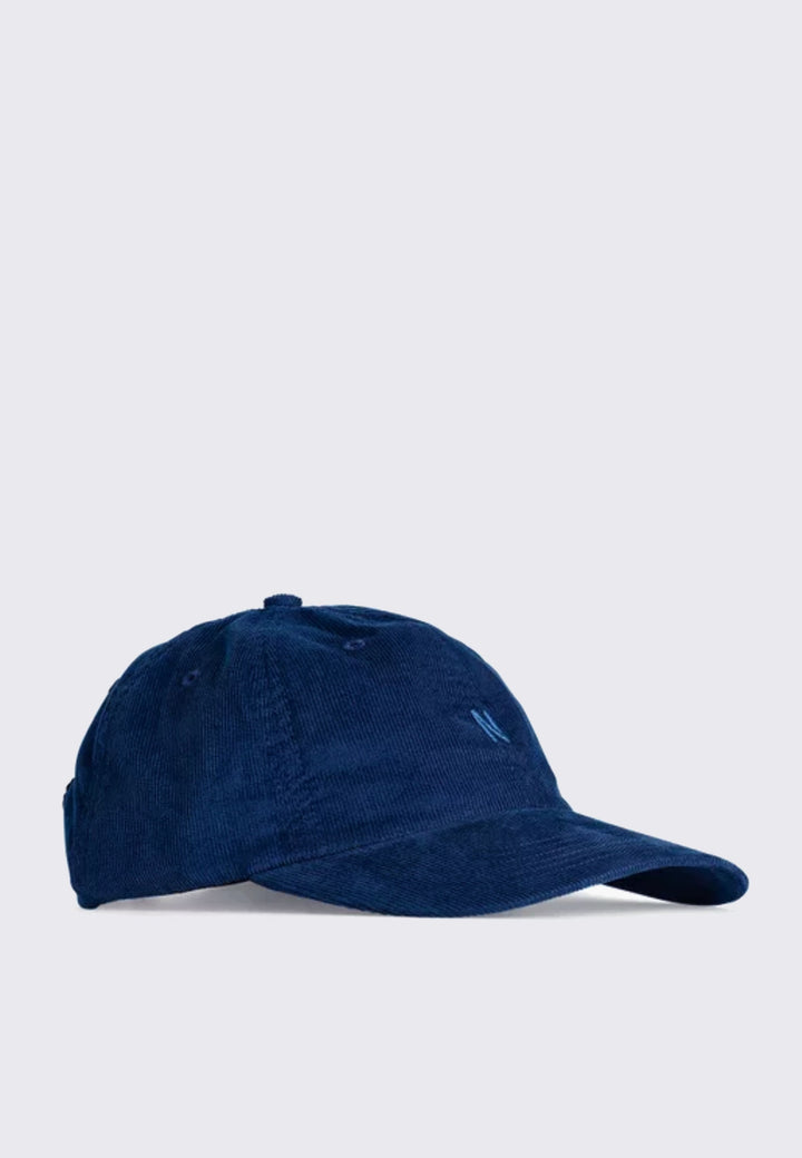 Baby Corduroy Sports Cap - twilight blue