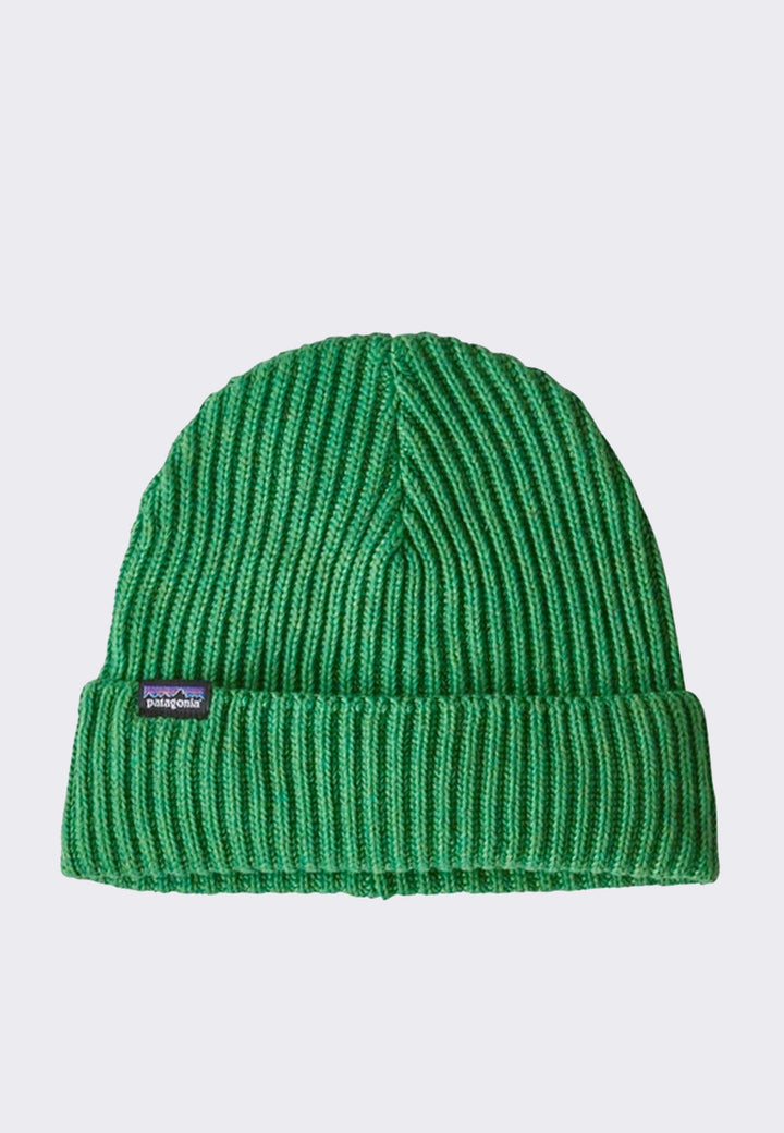 Fishermans Rolled Beanie - piki green