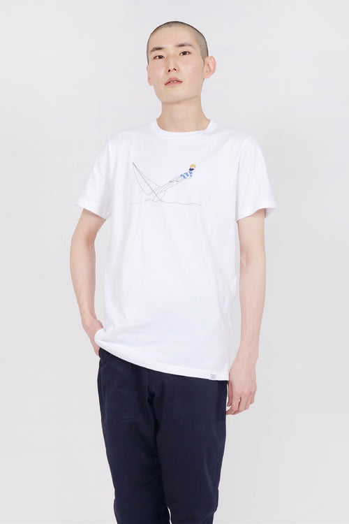 Norse Projects X Daniel Frost Hanging T-Shirt - white — Good as Gold