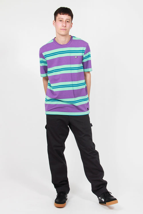 Stripy Eyes T-Shirt - purple