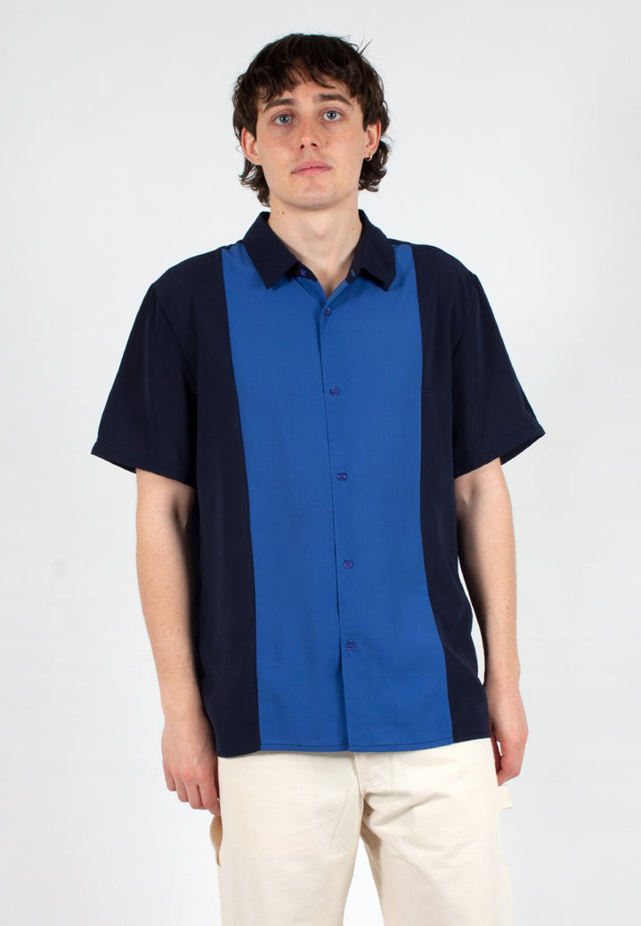 Native Youth | Alley Shirt - navy | Good As Gold, NZ