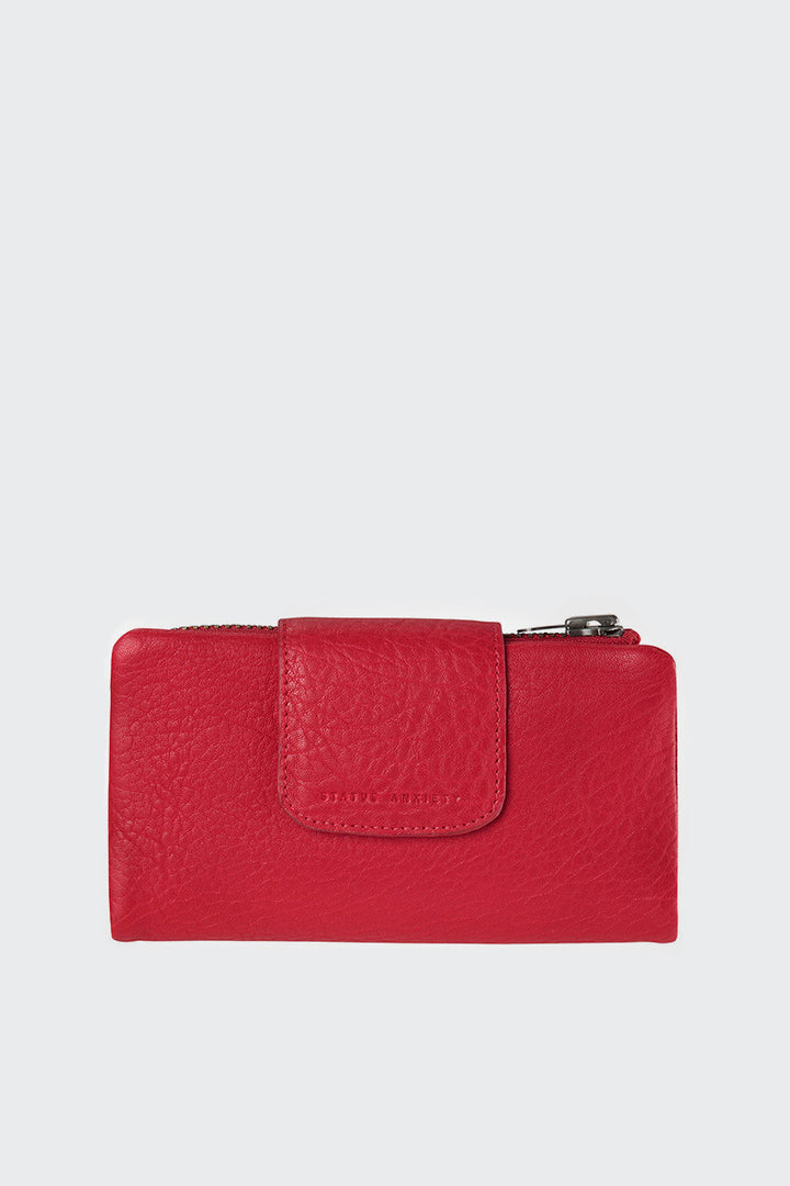 Status Anxiety The Fallen Wallet - red | GOOD AS GOLD | NZ