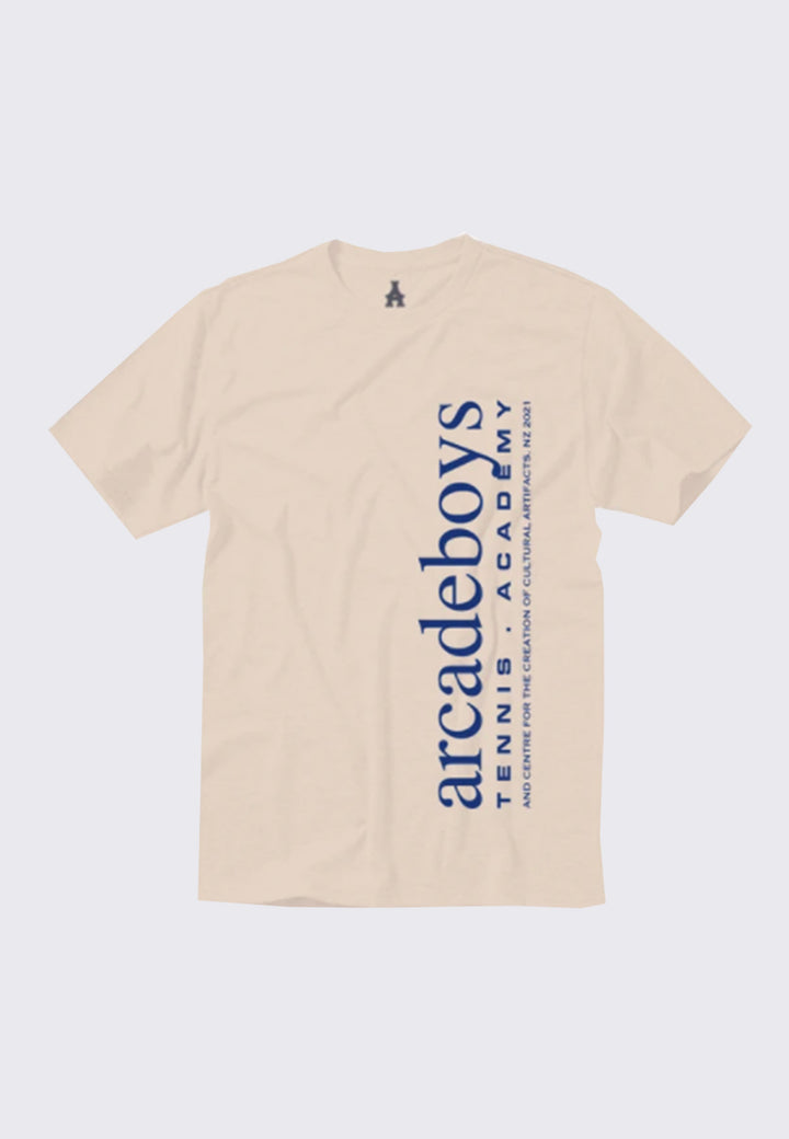 Tennis Academy T-Shirt - sand/blue