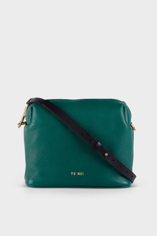 Yu Mei 3/4 Ch'lita Bag - bottle green – Good as Gold