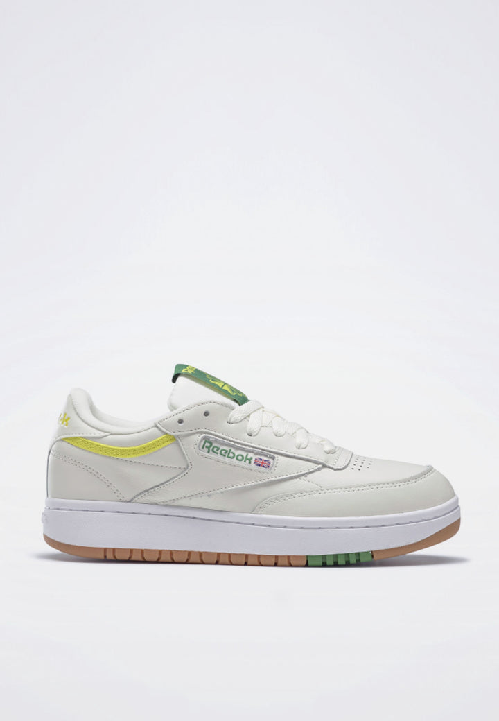 Womens Club C Double - chalk/yellow/gum