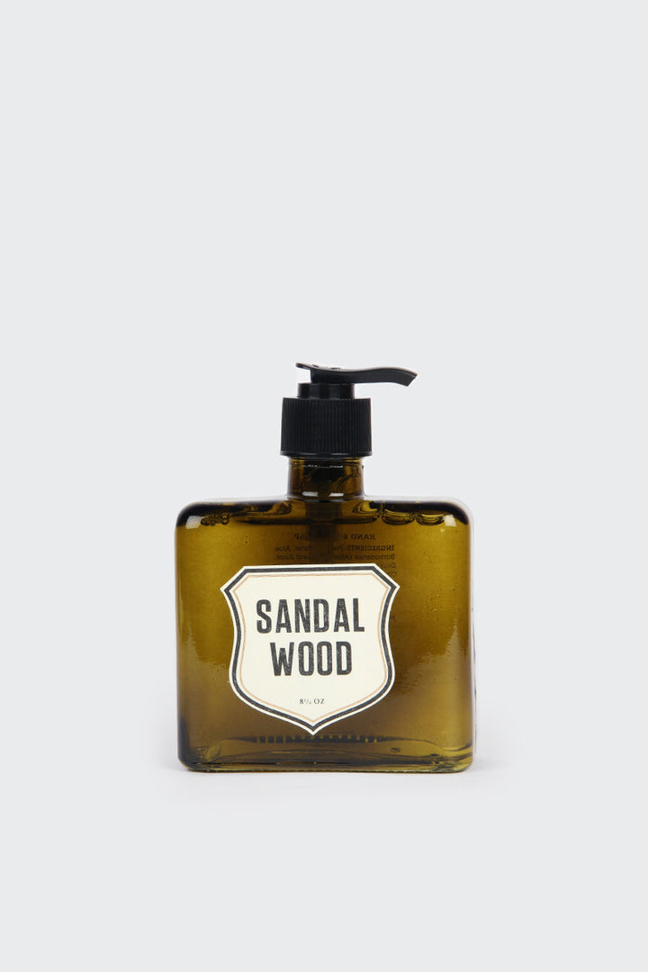 Izola, Sandalwood Liquid Soap | GOOD AS GOLD | NZ
