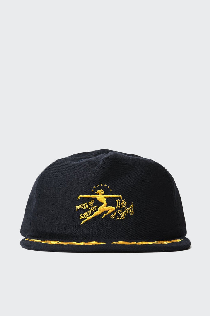 Brain Dead Death Of Life Cap - navy blue | GOOD AS GOLD | NZ